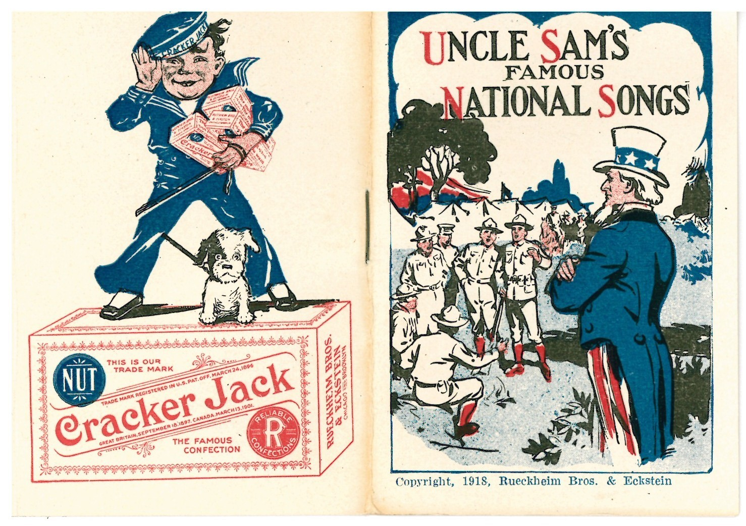 Uncle Sam's Famous National Songs