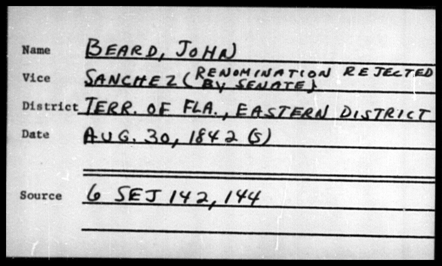 Beard, John