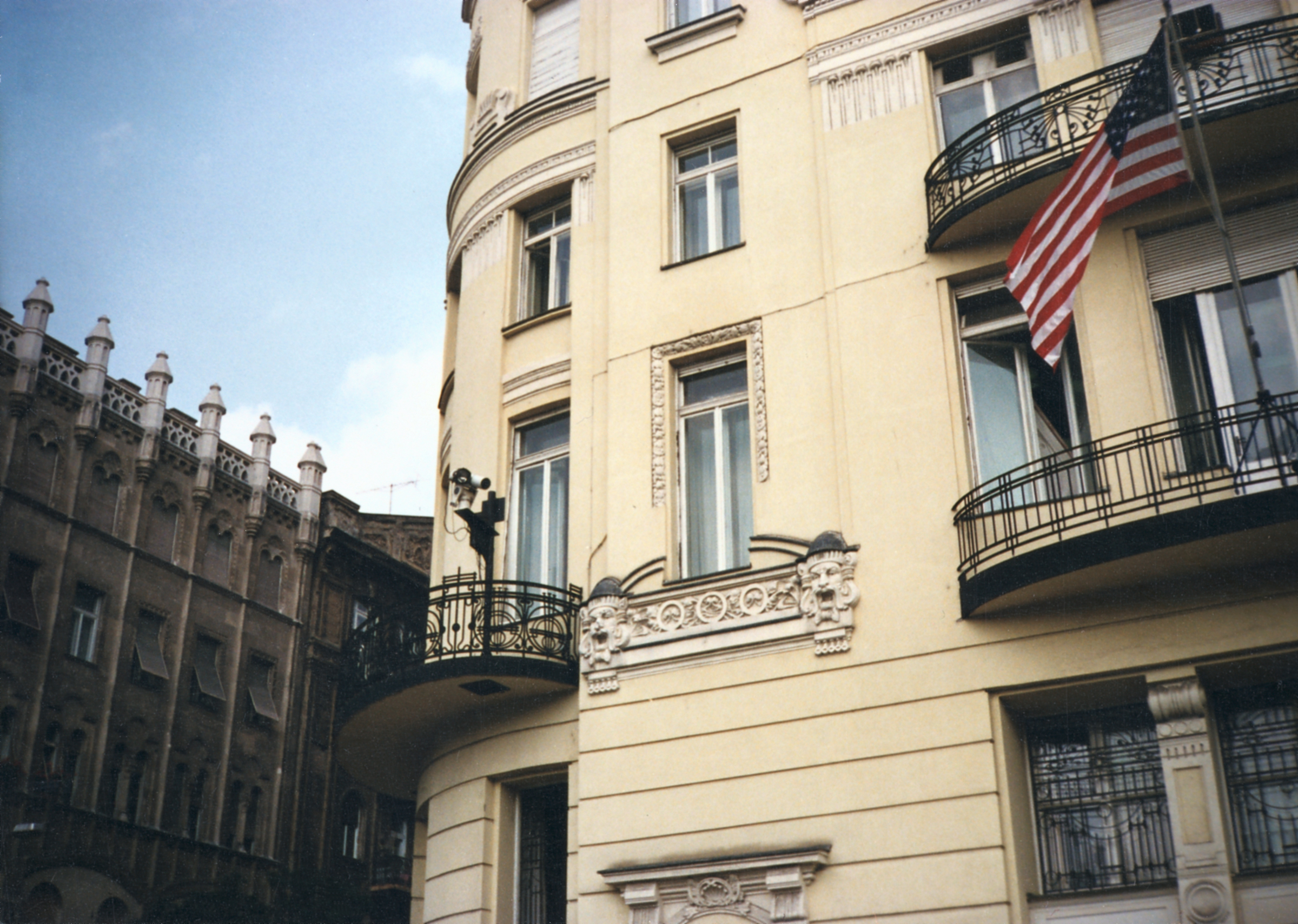 Budapest - Chancery Office Building - 1991
