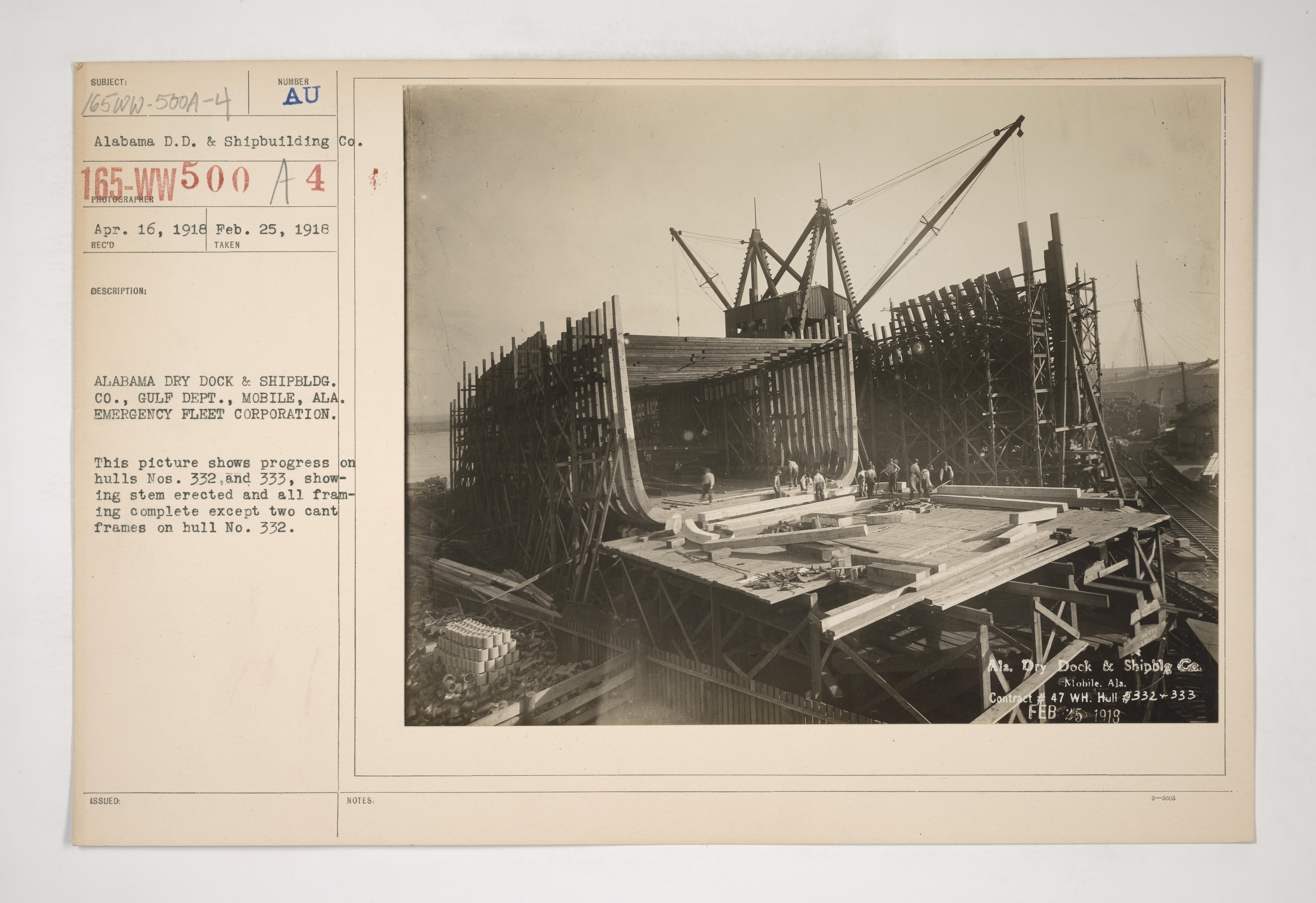 OMNIA - shipbuilding