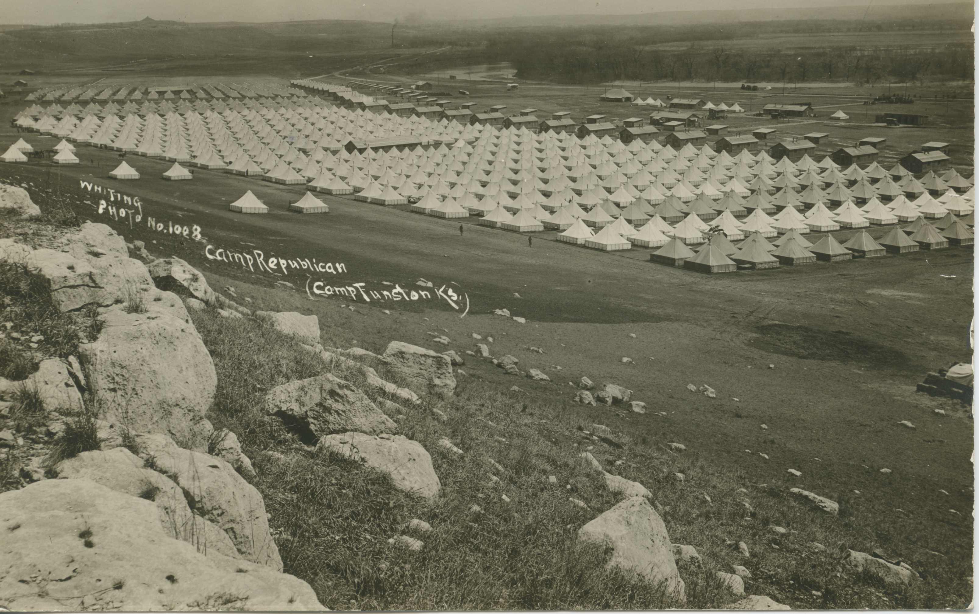Ceremonies - Camp Funston thru Camp Lee - Camp Funston, 1918