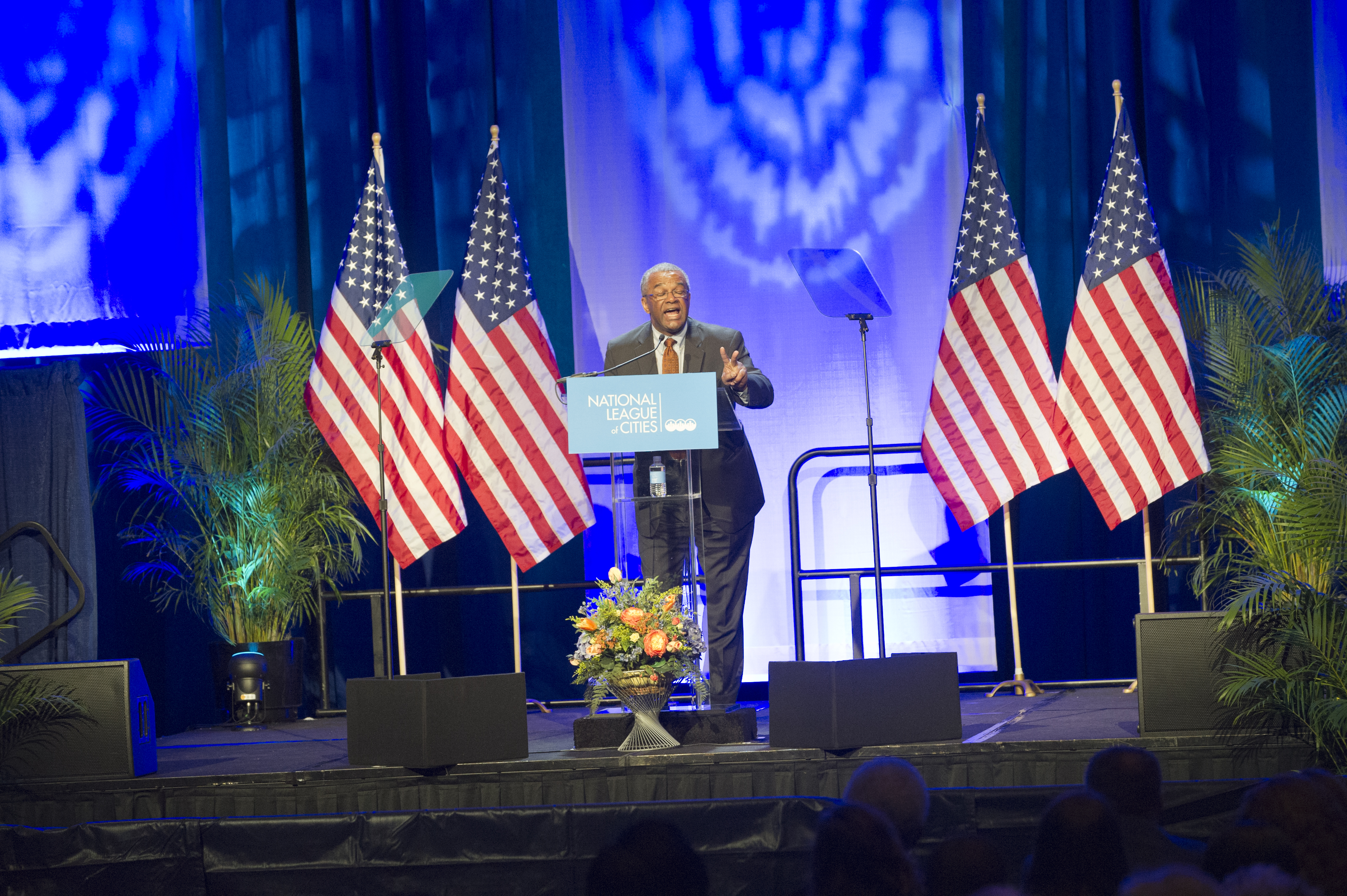 Activities at the] National League of Cities Congressional City Conference, Marriott Wardman Park Hotel, Washington, D.C., [with First Lady Michelle Obama, HUD Deputy Secretary Ron Sims among the speakers