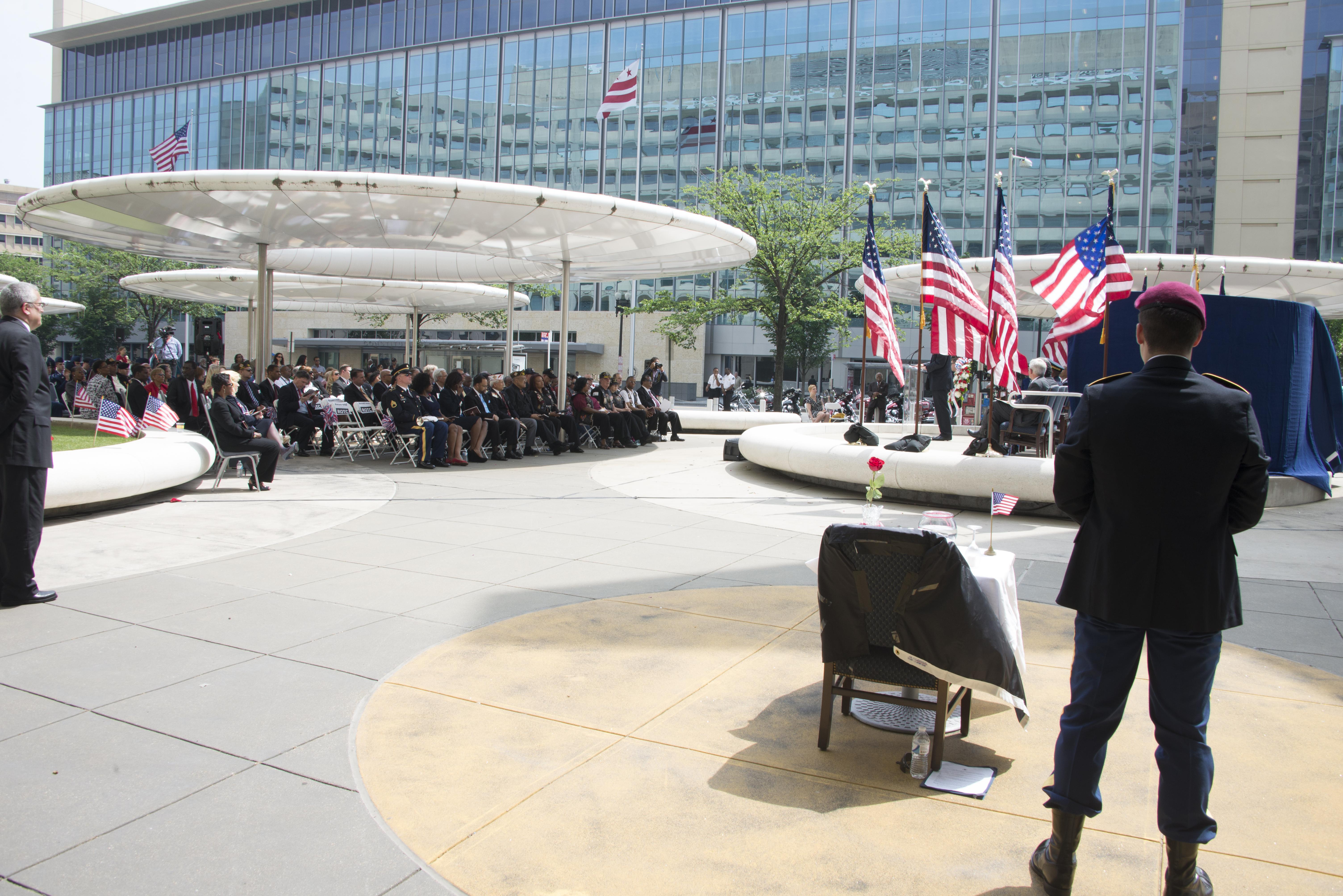 Memorial Day ceremonies, HUD headquarters