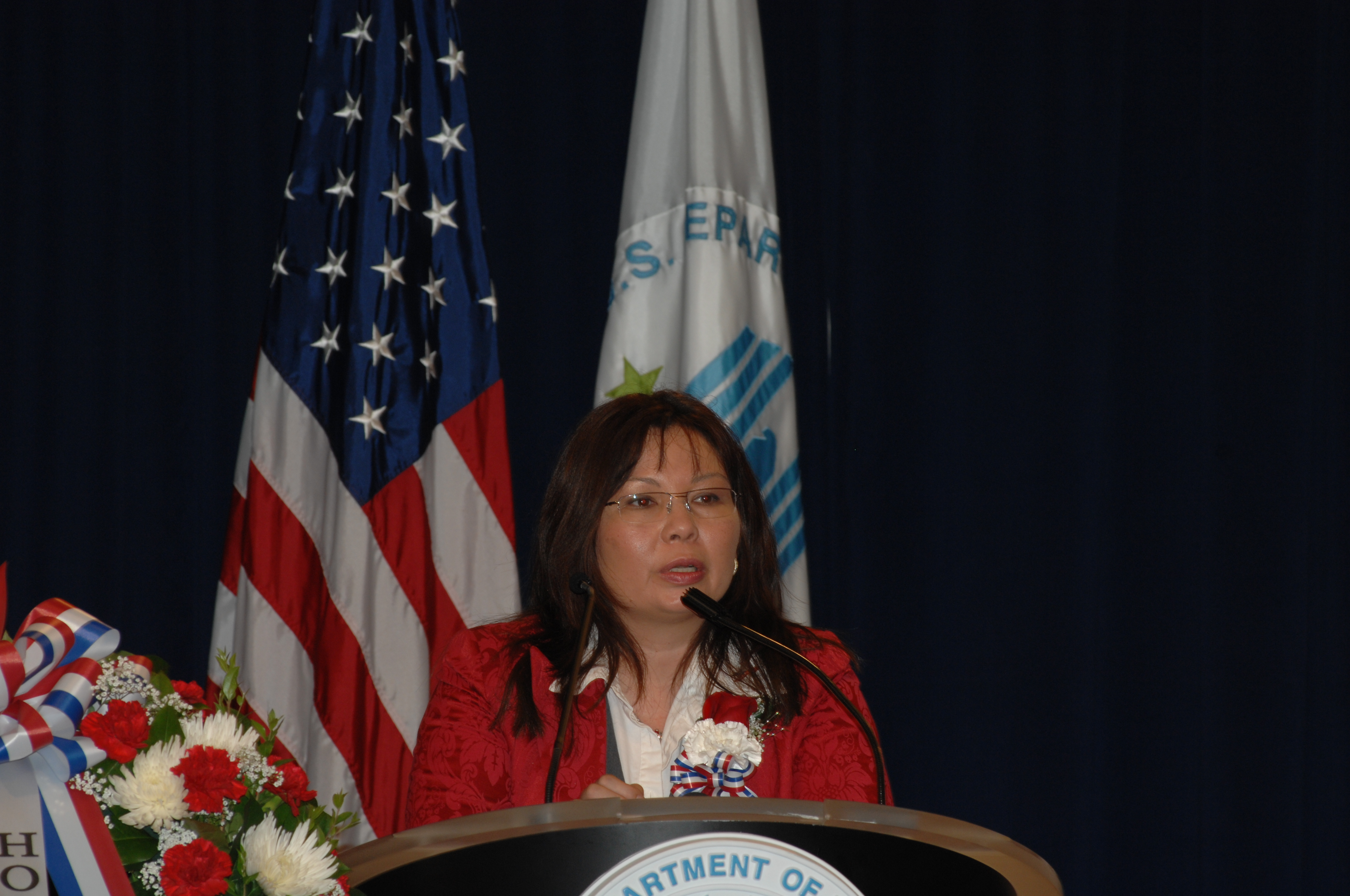 Veterans Day [commemoration activities at HUD headquarters, with Veterans Affairs Assistant Secretary for Public and Intergovernmental Affairs, Tammy Duckworth, among the guest speakers]