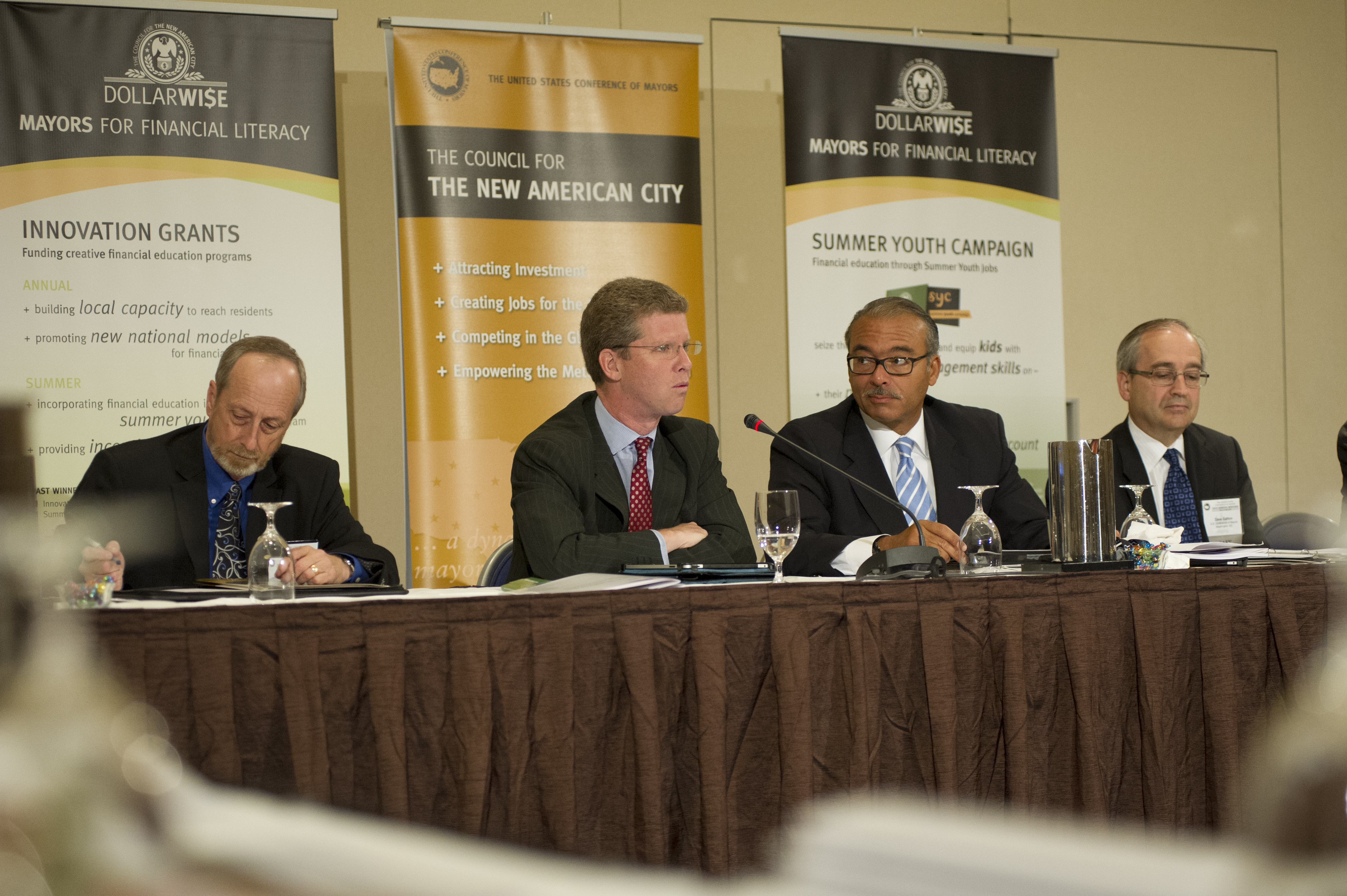Secretary Shaun Donovan at U.S. Conference of Mayors meeting in Baltimore, Maryland