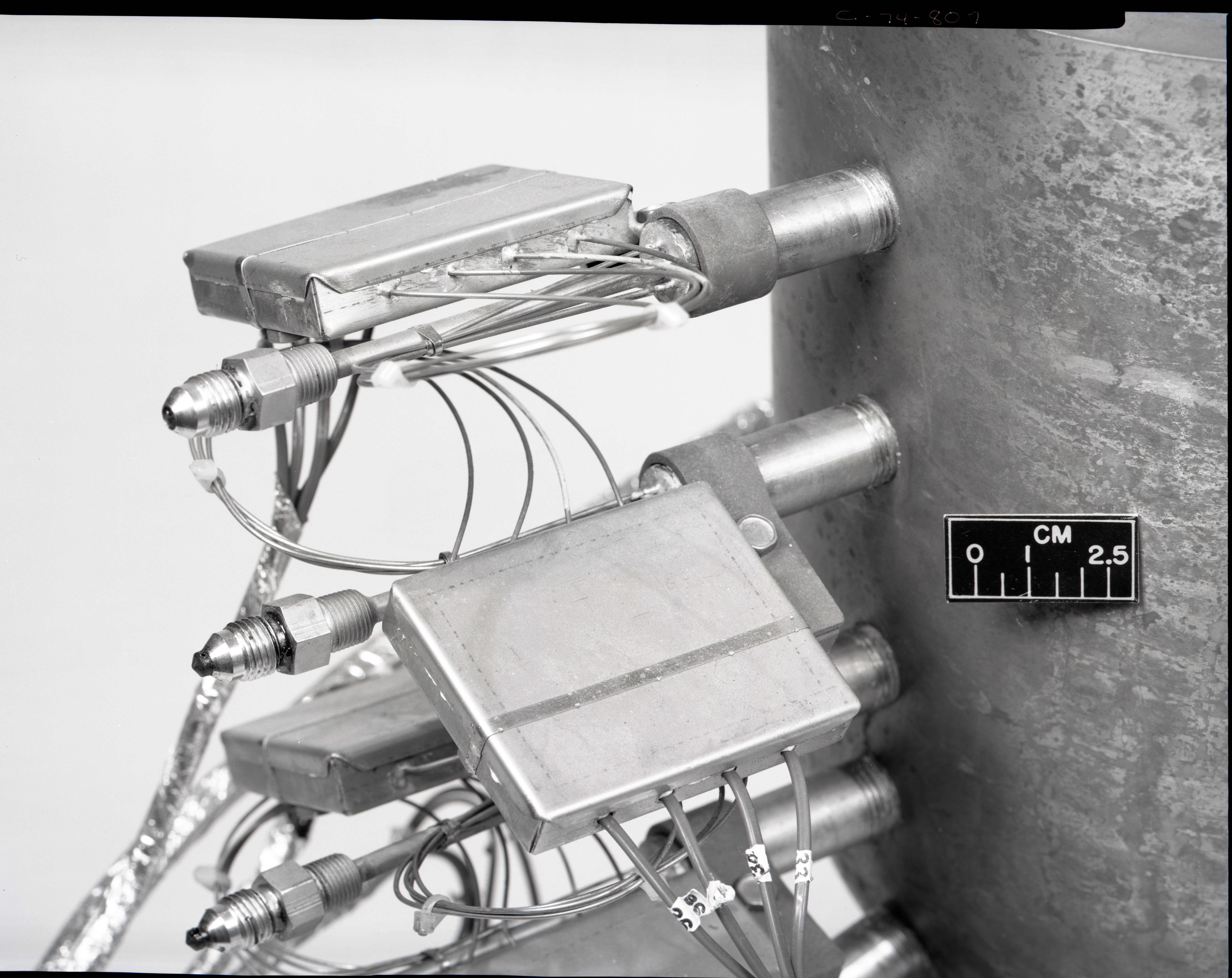 COPPER HEAT SINK ROCKET ENGINE FROM THE SOUTH 40
