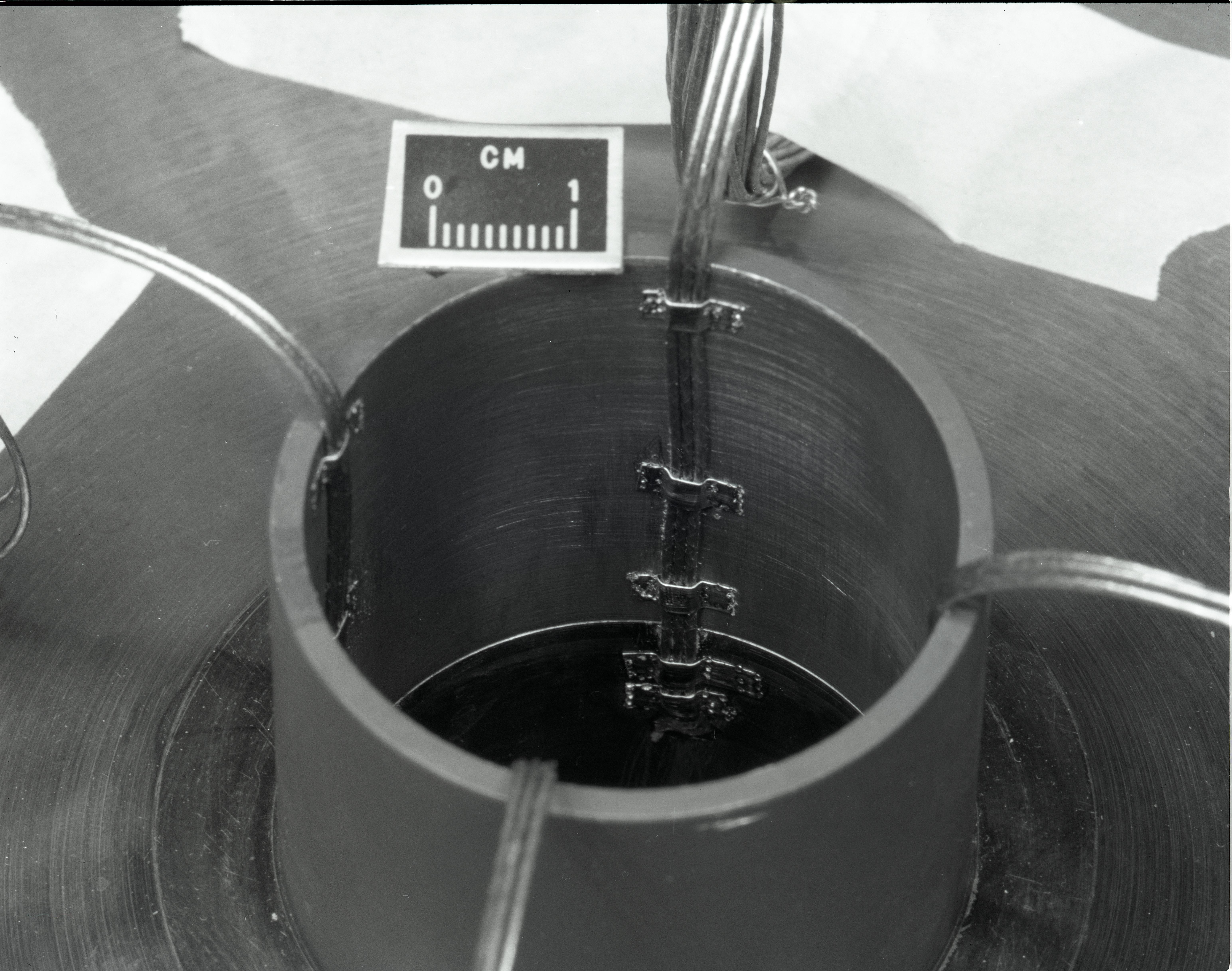 Omnia Strain Gauge Wiring Of Compressor Rotor