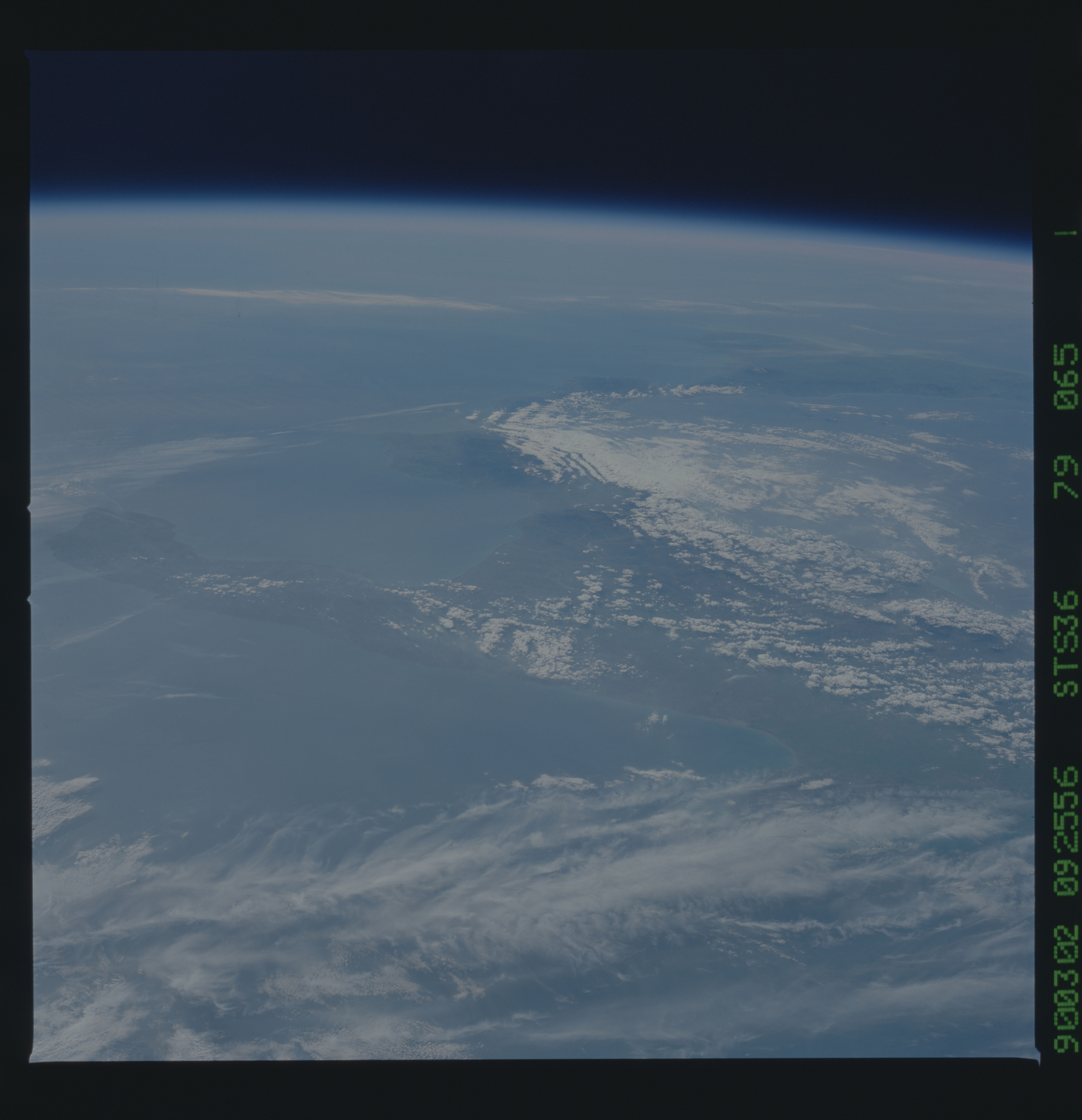 S36-79-065 - STS-036 - STS-36 earth observations