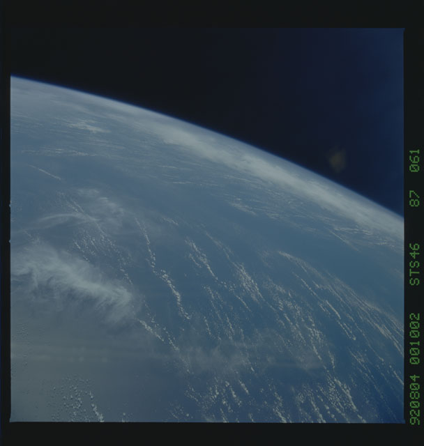 S46-87-061 - STS-046 - Earth observations from the shuttle orbiter Atlantis during STS-46