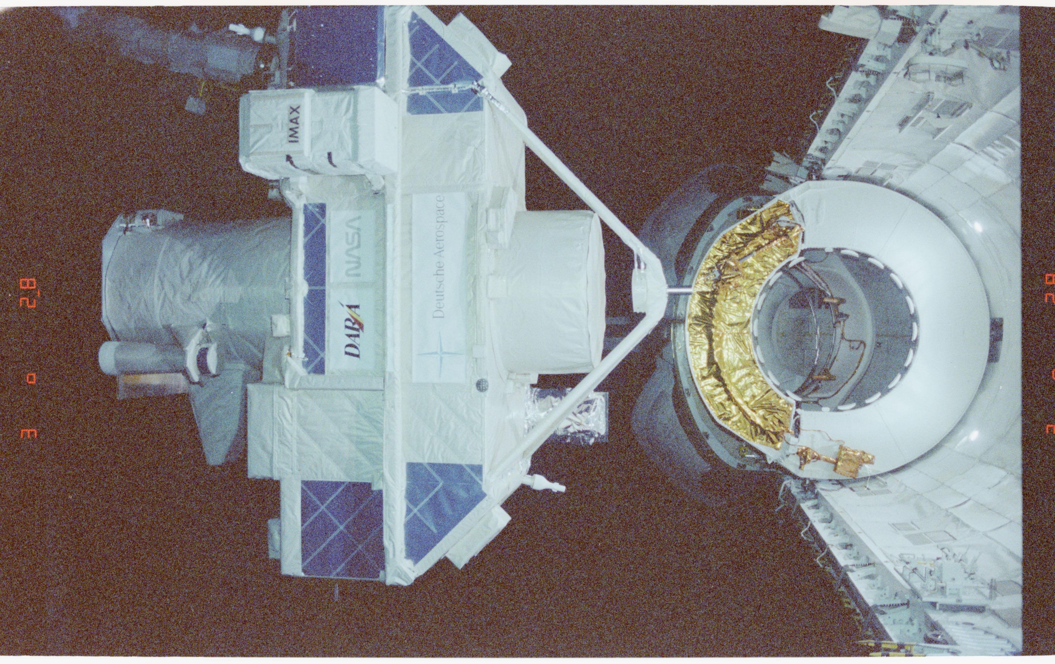 STS051-59-001 - STS-051 - ORFEUS-SPAS