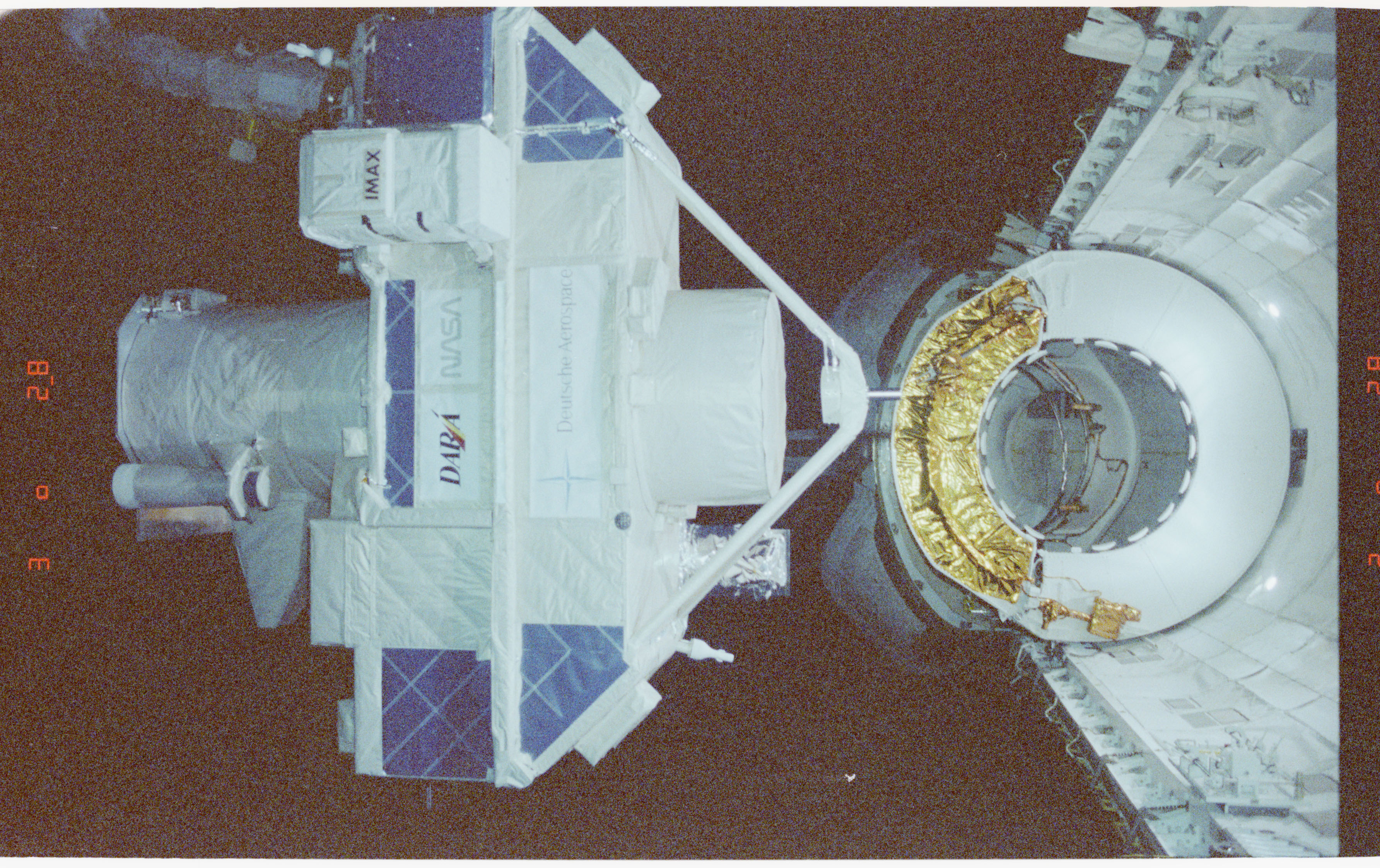 STS051-59-002 - STS-051 - ORFEUS-SPAS