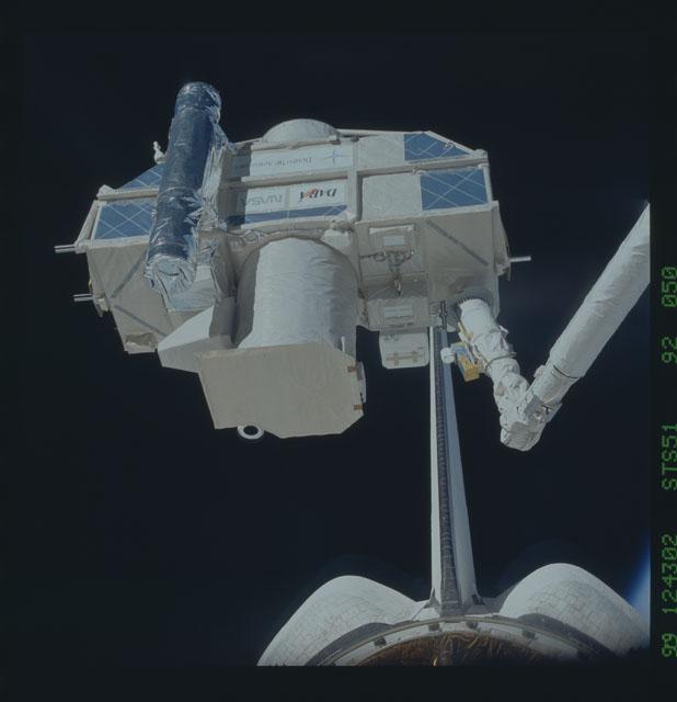 STS051-92-050 - STS-051 - ORFEUS/SPAS