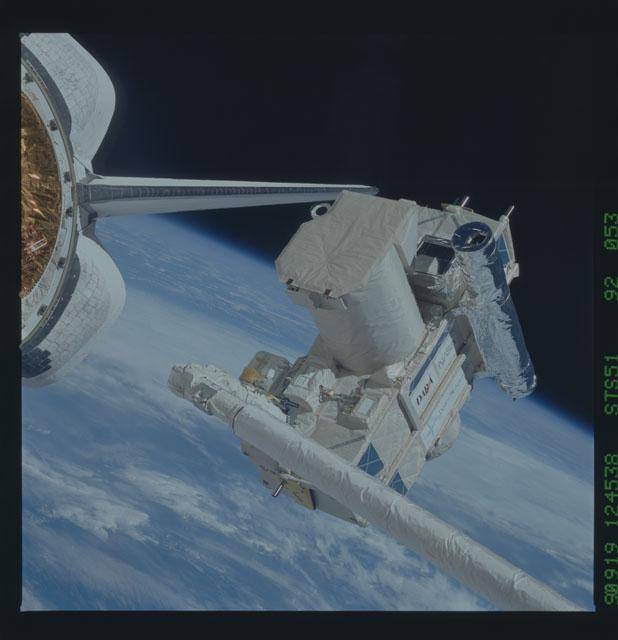 STS051-92-053 - STS-051 - ORFEUS/SPAS