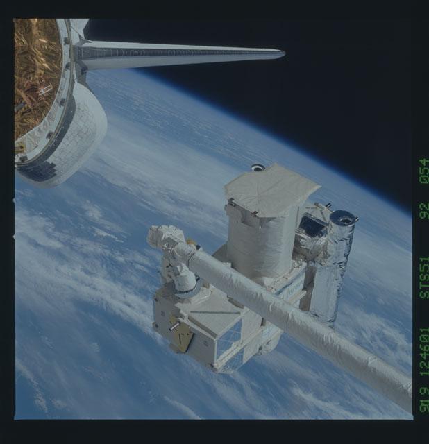 STS051-92-054 - STS-051 - ORFEUS/SPAS