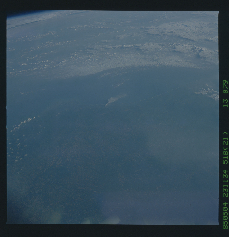 51B-43-079 - STS-51B - 51B earth observation