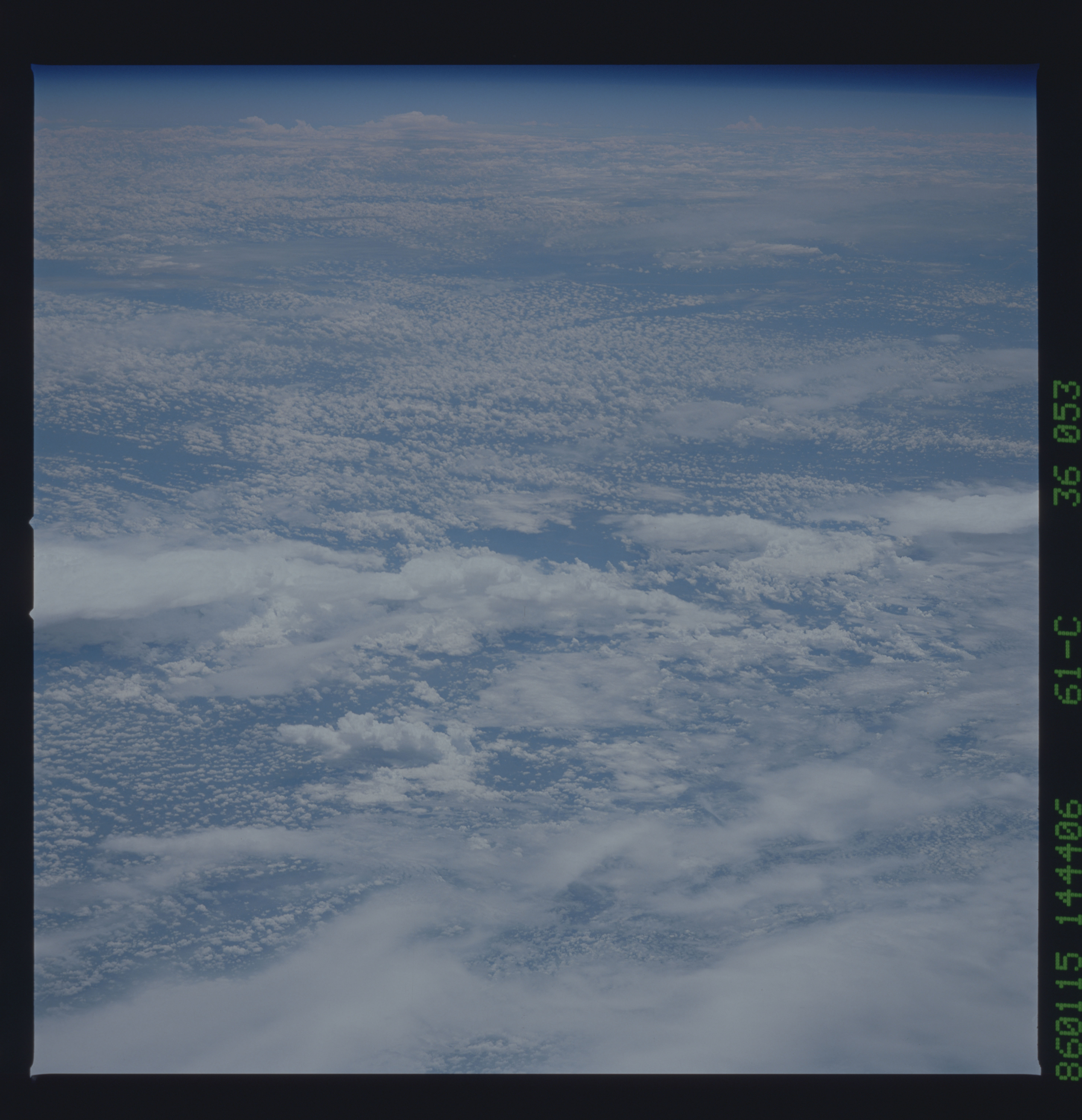 61C-36-053 - STS-61C - STS-61C earth observations