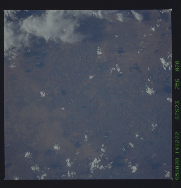 STS073-756-078 - STS-073 - Earth observations taken from shuttle orbiter Columbia