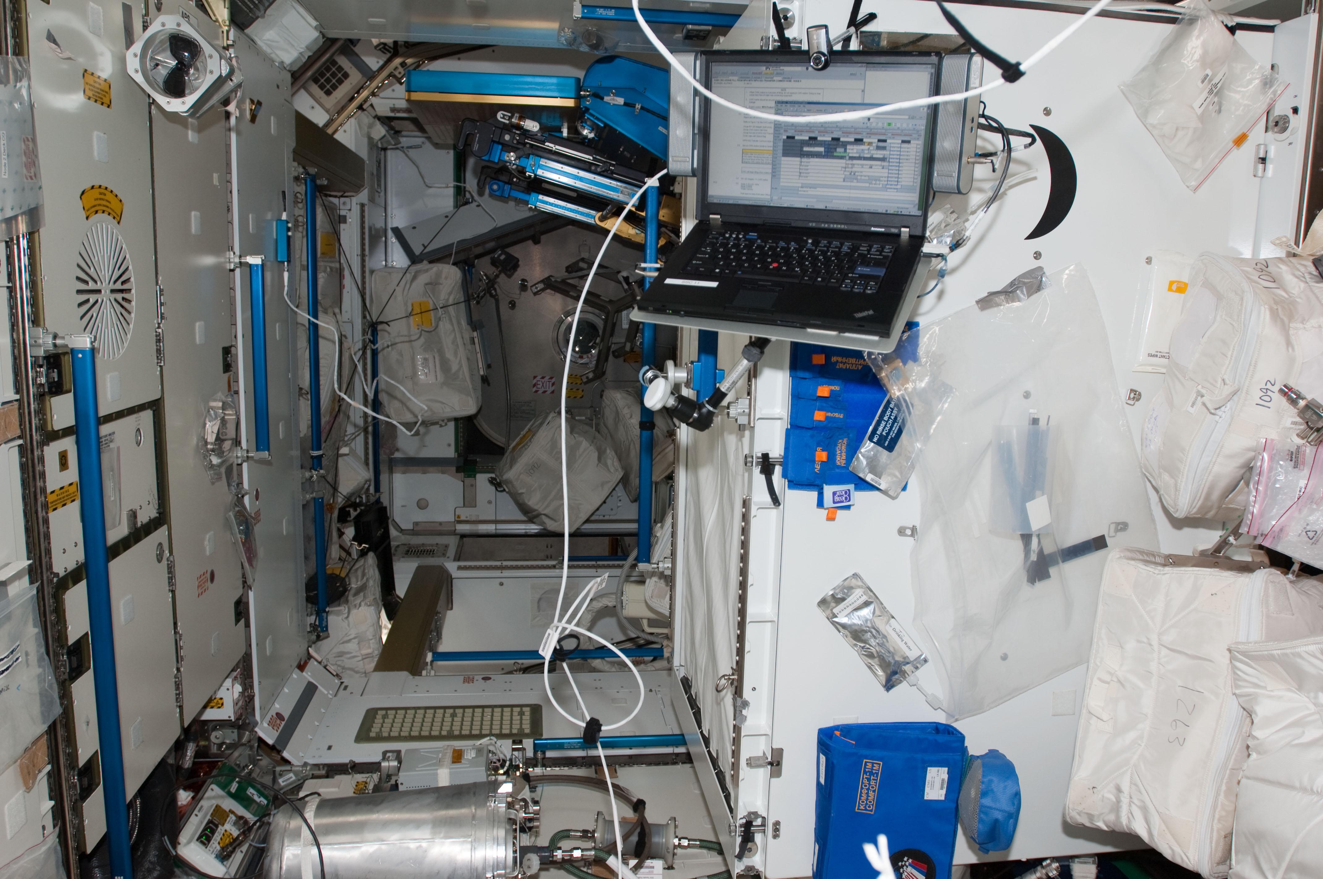 S130E010634 - STS-130 - Node 3 Interior