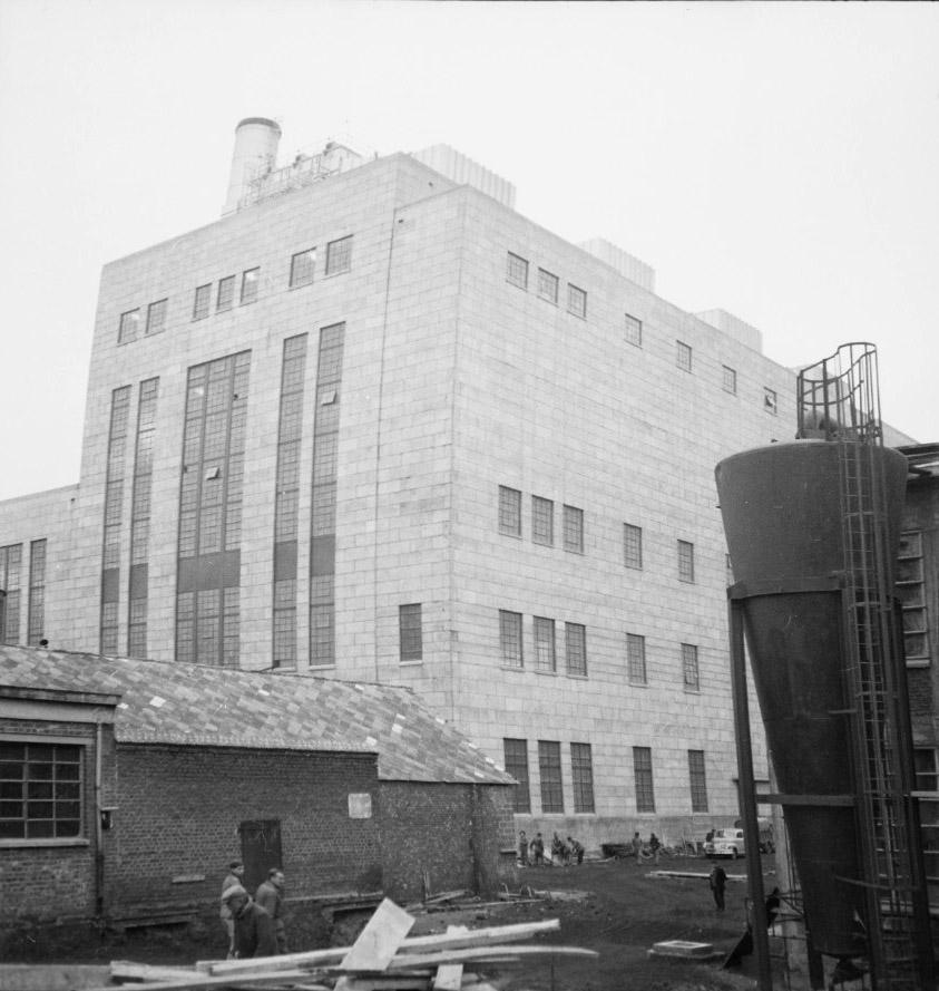 Harnes Thermal Plant] - [Roubaix Wool Industry