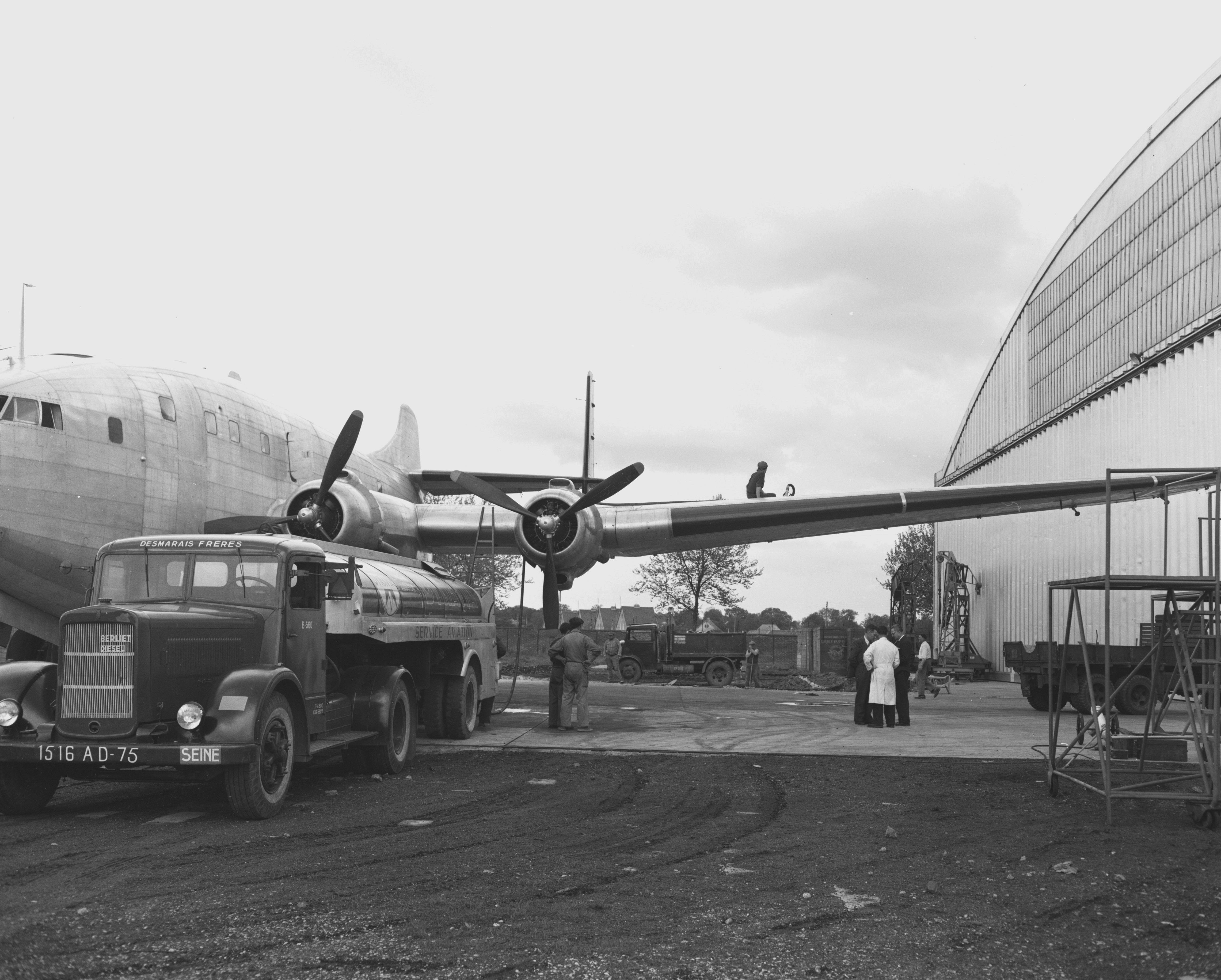 Louis Breguet, Ateliers d'Aviation